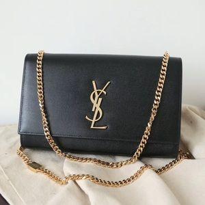 YSL black Kate bag medium